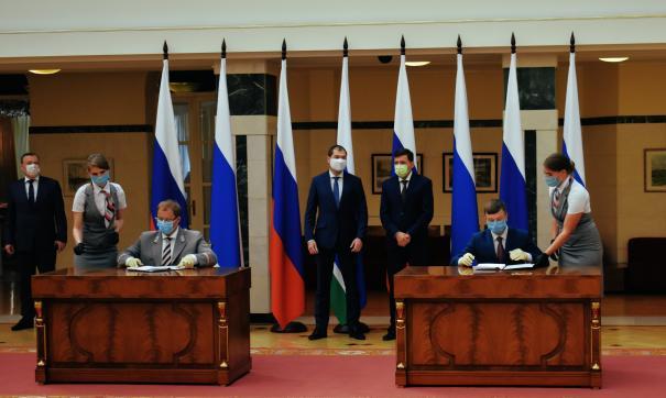 Концессию по железной дороге к «Титановой долине» подписали свердловское правительство и РЖД