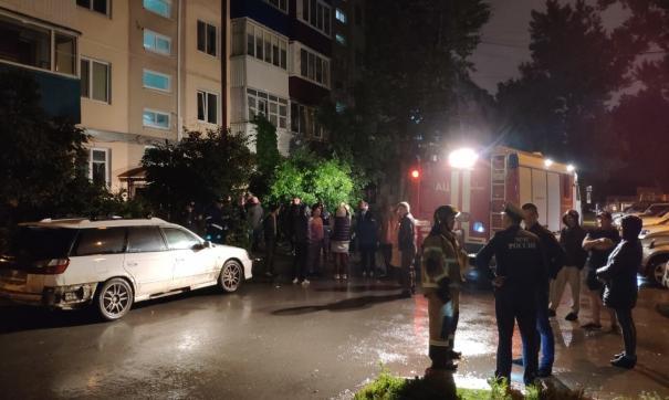 В одном из домов Южно-Сахалинска взорвался баллон с кислородом