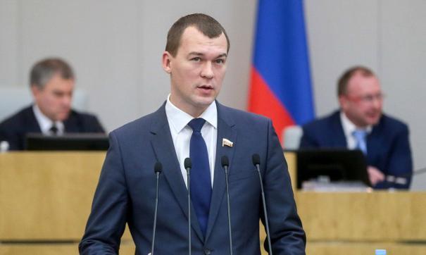 Новый глава Хабаровского края уже прибыл в регион