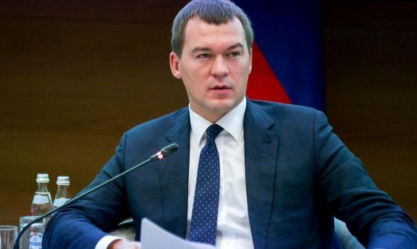 Дегтярев решил позиционировать себя назначенцем президента
