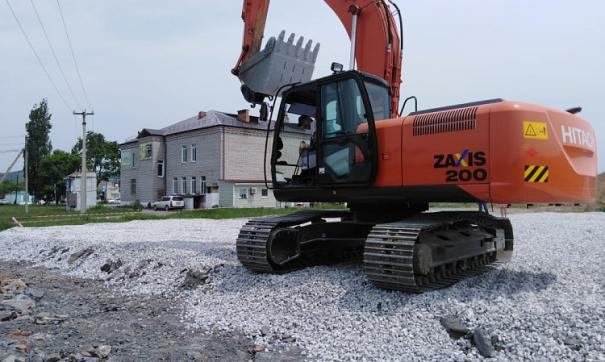 В Приморском крае строят новые спортивные площадки для местных жителей