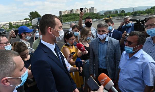 Врио губернатора посетил Амурский судостроительный завод.
