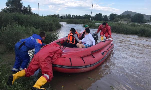 Паводок в Туве пошел на спад