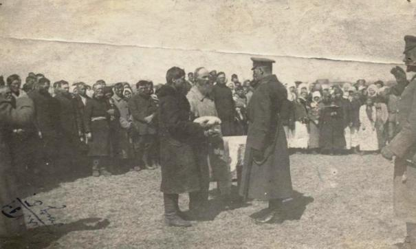 Адмирал Колчак в Иркутске