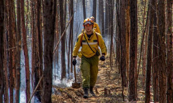 Власти опасаются осложнения ситуации с лесными пожарами