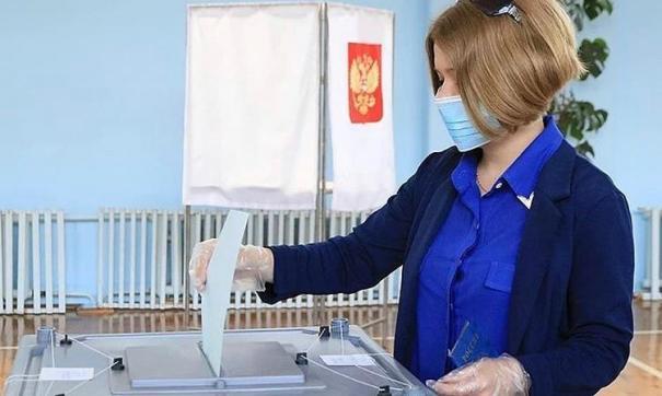 На избирательных участках соблюдены все меры безопасности