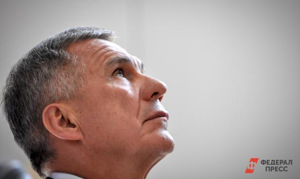 Рустам Минниханов собирается в третий раз стать президентом Татарстана