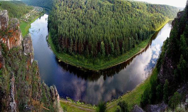 Река Ай – отличное место для отдыха