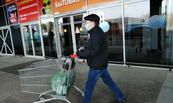 Торговые комплексы не работали в привычном режиме с конца марта