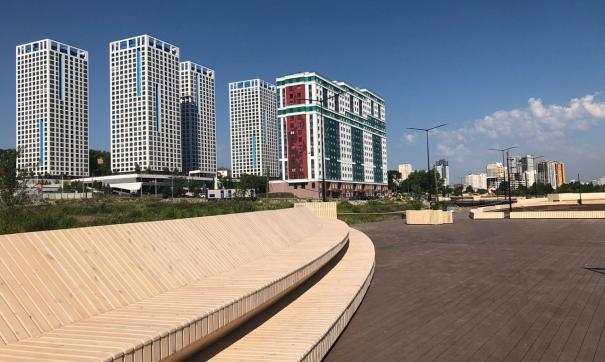 Новая набережная в Екатеринбурге