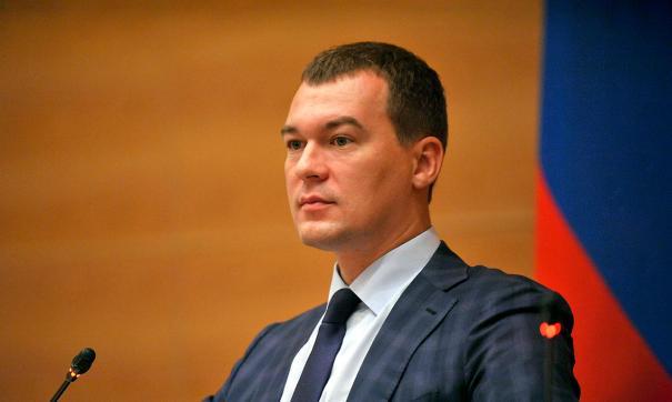 «Это было неожиданно». Дегтярев – о назначении его врио главы Хабаровского края