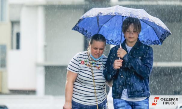 В Москве снова пролил сильный дождь