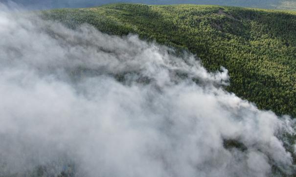 В уральский заповедник «Денежкин камень» доставили четыре тонны воды для тушения пожара