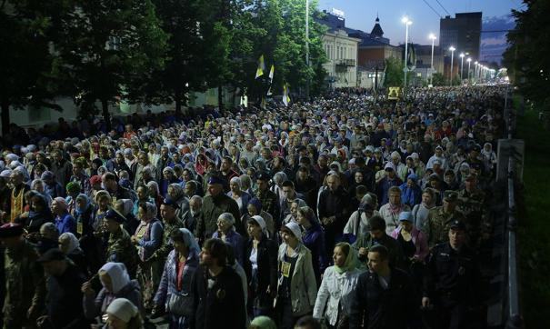 Епархия не стала отменять большой крестный ход в Екатеринбурге в разгар пандемии