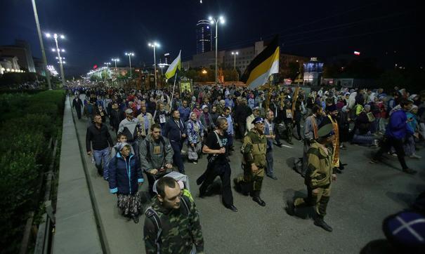 Свердловские власти призвали воздержаться от участия в массовом крестном ходе