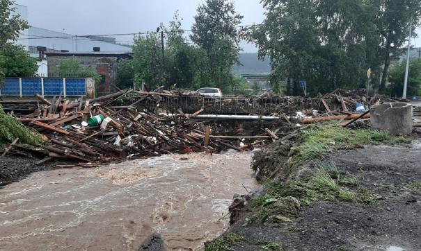 Пострадавшим от потопа в Нижних Сергах выплатят по 15 тысяч рублей