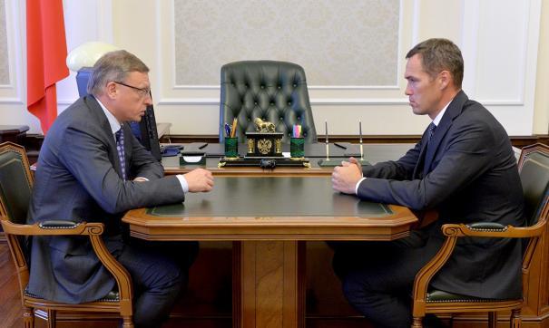 Александр Бурков и Илья Лобов