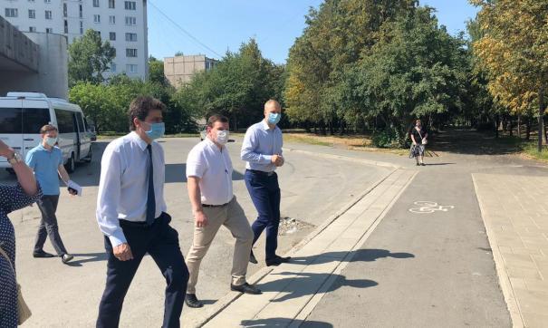 Высокинский рассказал о будущей реконструкции Ленинского района
