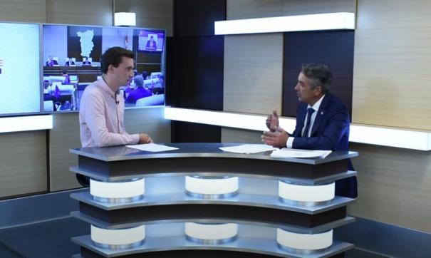 Гость студии – депутат Сергей Ветошкин