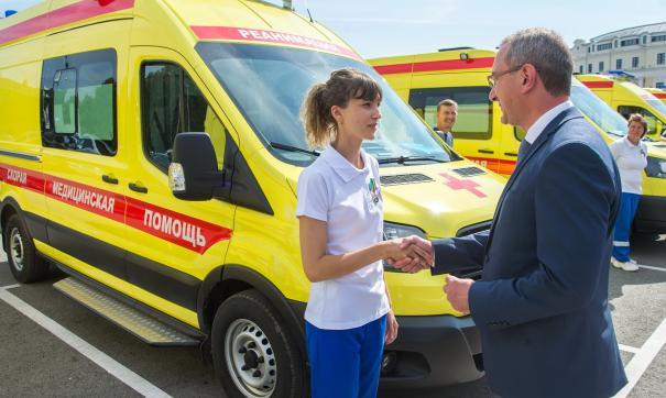 Для калужской станции скорой помощи закупили десять реанимобилей