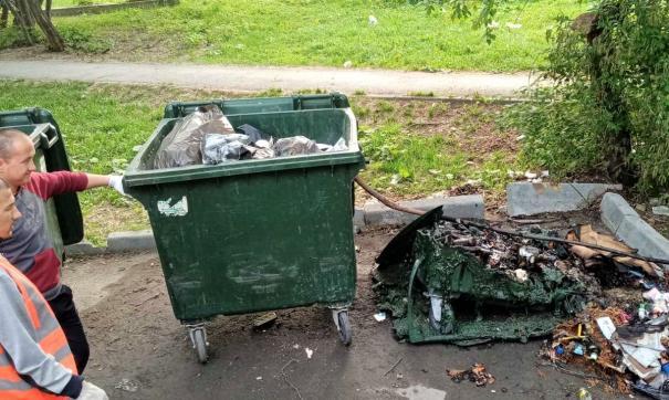 Тюменский регоператор обеспокоен пожарами на мусорных площадках