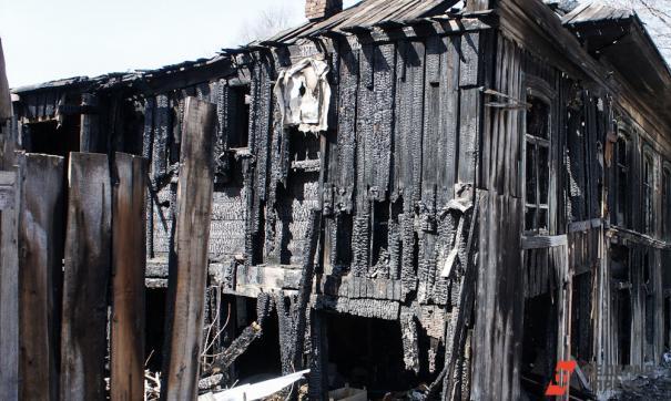 В поселке Колтубановский сгорели 12 домов
