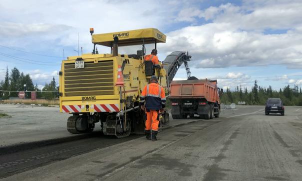 На Ямале до конца сентября сдадут дорогу в главный аэропорт