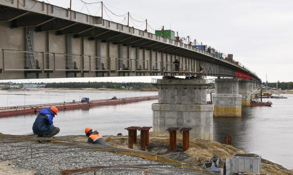 Глава Ямала оценил готовность Пуровского моста