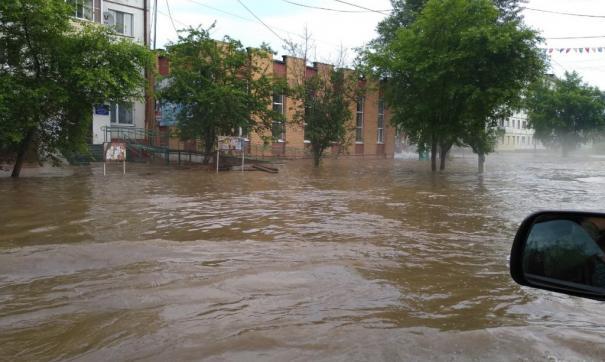 В Хабаровске введут режим повышенной готовности из-за паводка