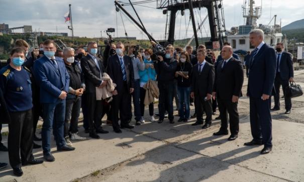Сегодня премьер-министр РФ Михаил Мишустин прибыл в Магадан с рабочим визитом.