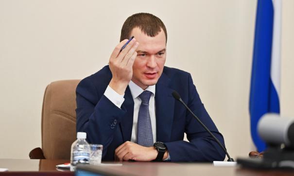 Глава Хабаровского края Михаил Дегтярев дал очередное интервью телеведущему Владимиру Соловьеву.
