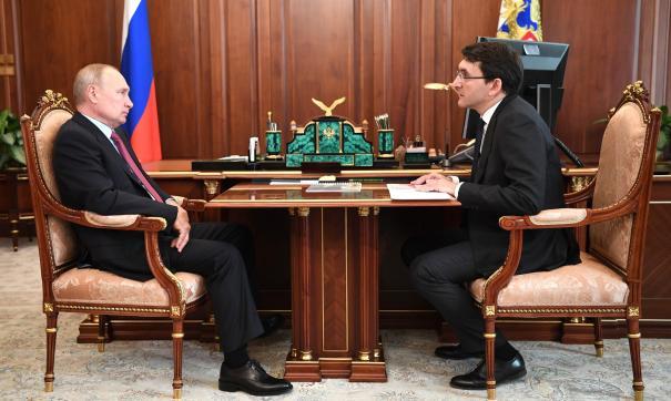 Встреча Путина с Липовым