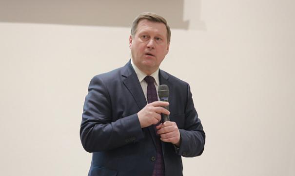 Анатолий Локоть останется на посту мэра во время избирательной кампании