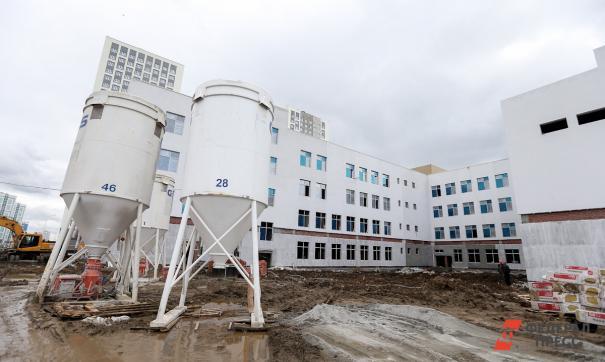 В Иланском строят новую школу
