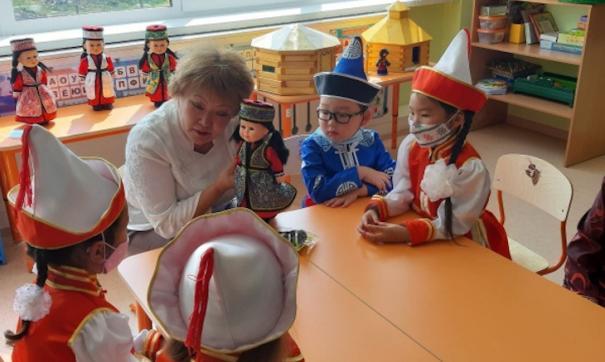 Все 49 детских садов Усть-Ордынского бурятского округа в Иркутской области получат новые интерактивные детские пособия