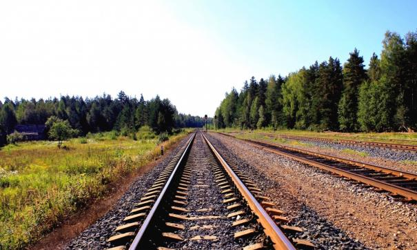 Речь идет о  полосе непосредственно прилегающей к железнодорожному полотну
