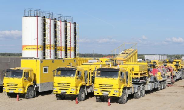 «РН-Юганскнефтегаз» установил рекорд по количеству гидроразрывов пласта в месяц