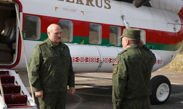 Александр Лукашенко и генерал