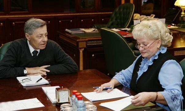 Петр Сумин и Надежда Гартман