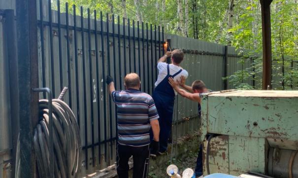 На озерах Челябинской области убирают незаконные ограждения через суды
