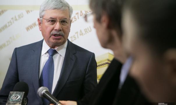 Председатель Законодательного собрания Челябинской области Владимир Мякуш