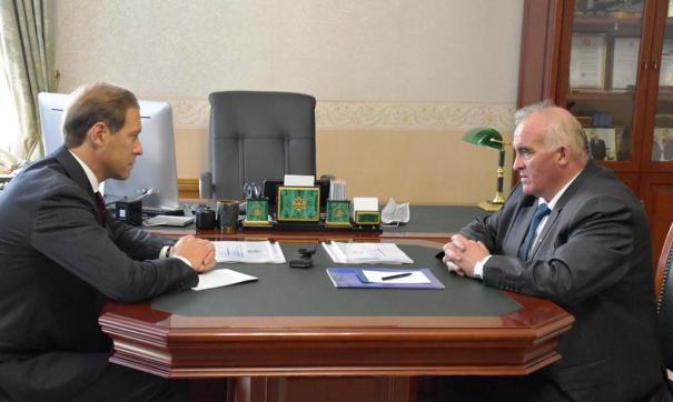 Денис Мантуров прибыл в регион с рабочим визитом
