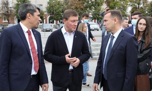 Андрей Турчак прибыл в Зауралье на партийный форум