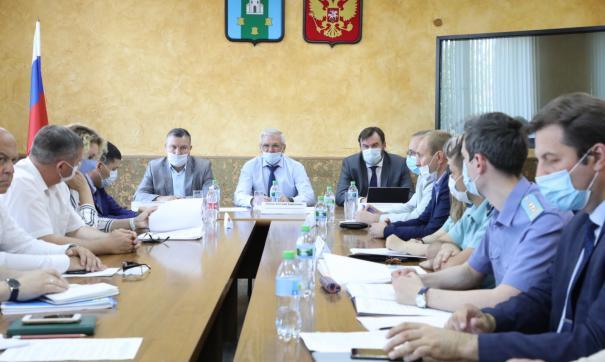 В администрации Богородска провели совещание по вопросам экологии