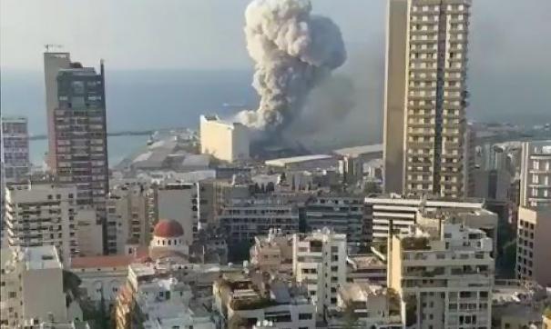 Россиян нет в списке жертв после взрыва в Бейруте