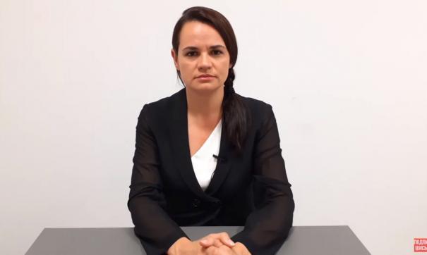 Тихановская надеется на помощь мировых сообществ для диалога с властями Белоруссии