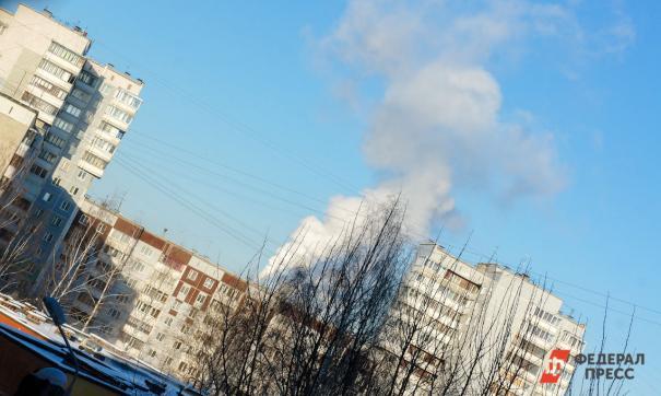 В Москве задымилась недостроенная многоэтажка