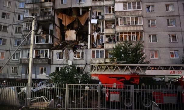 Под завалами дома в Ярославле могут быть люди. Кадры с места ЧП