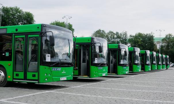 До конца года в Екатеринбурге появится 57 новых автобусов