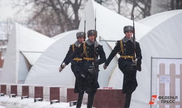 Офицерам заменили каракулевые шапки на меховые